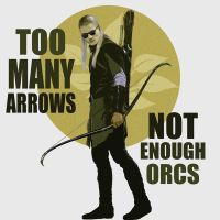 Too Many Arrows ~ Not Enough Orcs by Shady-21