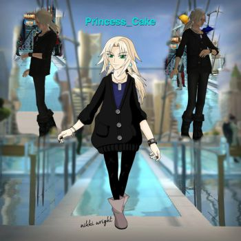 Playstation Home Avatar w/Screens by PrincessCakeNikki