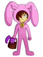 Caldwell Bunny - Easter Contest by SuperHeroPattyFatty