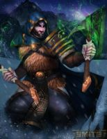 Smite Ullr by Mrahart