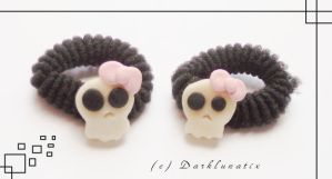 Bobbles - Cute Skulls by neko-crafts