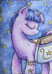 Twilight Sparkle ACEO by LittlePonyPrincess