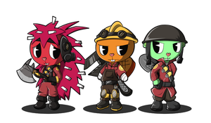 HTF2- Team so Far by BlindSnipeFreeLancer