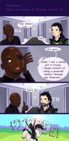 Reason Why Loki Wears A Muzzle #8 by skullanddog