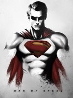 Man of  Steel by Niyoarts