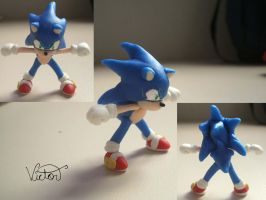 Sonic the hedgehog by VictorCustomizer