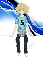 soccer boy by SweetCorre