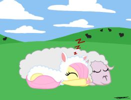 Sheep Sleep by WillisNinety-Six