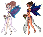 Fairy Flower Girl 6-7 Years Later by gaypurpledinosaur