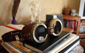 Steampunk Goggles by BlueLint
