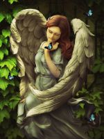 Angel Oriphiel by babsartcreations