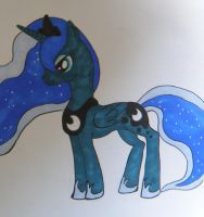 Princess Luna by Muketti