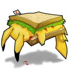 Pikachu Sandwich by SketchMonster1