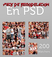 Pack de remodelacion en PSD 200 Watchers by WeCantStopTheART