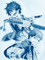 Blue Exorcist by UnexpectedFantasy