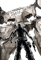 Metal Gear Rex by SpawnofKane