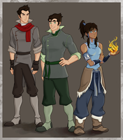 Team Avatar by punker--rocker