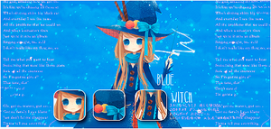 Blue witch by Paulina29