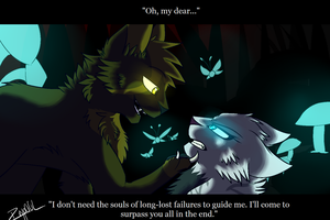 Oh, my dear... - Screenshot Comm. for Silver-Etch by LiterallyRavenpaw