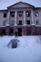 Abandoned Community Center in Vorkuta, Russia by OneMorePike