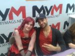 Me and MIchael Mando aka Vaas from Farcry by emopuppy07