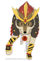 Takeru, the warrior wolf |+video| by Tsukihowl