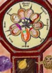Weasley Clock by guad