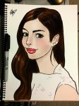 +Anne Hathaway+ by liquidxlead