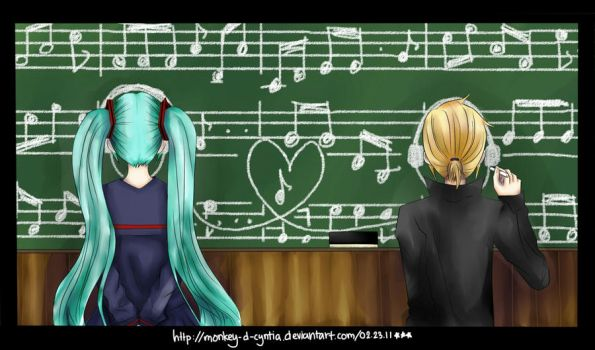 VOCALOID - The Sound of Music by monkey-d-cyntia