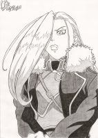 FMA - Olivier Milla Armstrong by Elrick87