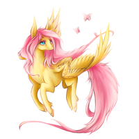 Fluttershy by PaintedTear