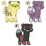 Adoptables with Icons CLOSED by RooCoo