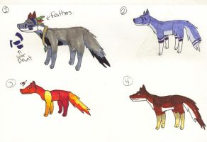 Wolf adopts (open) REDUCED by XTwilight-SerenityX