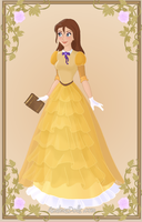 Jane Porter { Yellow Dress } by kawaiibrit