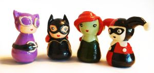 Gotham Girls-MINI! by maggmagg