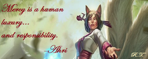 League of Legends Ahri Saying by BakaHentai90