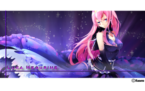 Luka Megurine Signature by iKisses