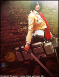 Mikasa Ackerman Cosplay - Lucca Comics 2013 by MilunaSky