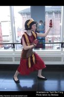 Fire Nation Toph Cosplay by serene-soul