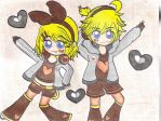 Unhappy Refrain (Rin and Len) by chubbybunny921