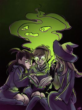 Little Witch Academia by ursyoctopus