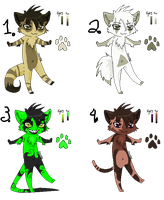 4Adoptables set CLOSED by oCrystal