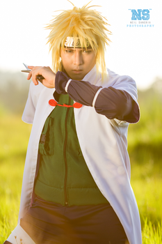 The 4th Hokage of the Hidden Leaf Village by Mildonaire
