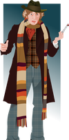 The Fourth Doctor by jonizaak