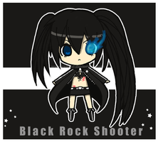 Chibi Black Rock Shooter by Pijenn
