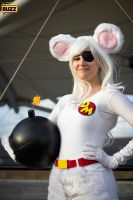 Danger Mouse by Paper-Cube