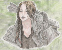 Katniss Everdeen by Egoamores