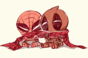 Spideypool61 by LKiKAi