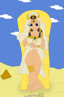 The Egypt Goddess by Final7Darkness