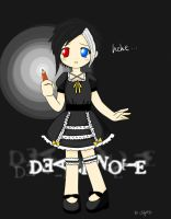 Chibi DeathNote Lainey:P by RuzzeLRoxy